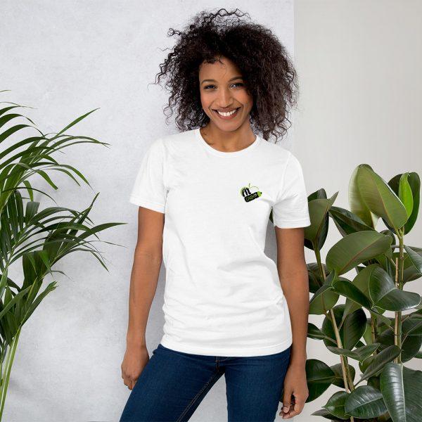 Tee Shirt blanc Fit Caen'p