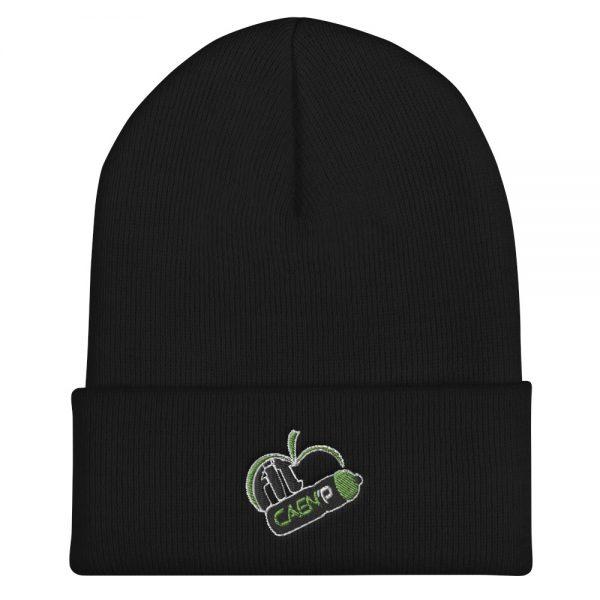 bonnet Fit Caen'p noir